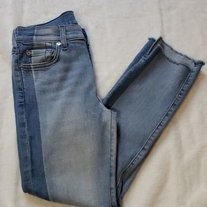 """7 For All Mankind """"Roxanne"""" ankle jeans"""